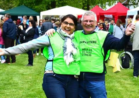 Hillingdon Samaritans – Fun at the May Fair